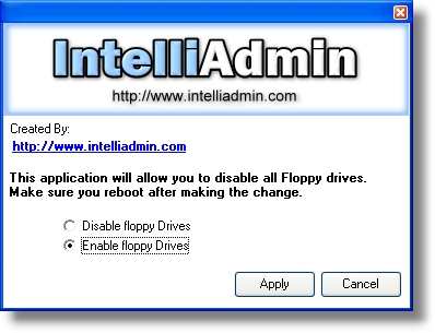 Floppy Remote Drive Disabler
