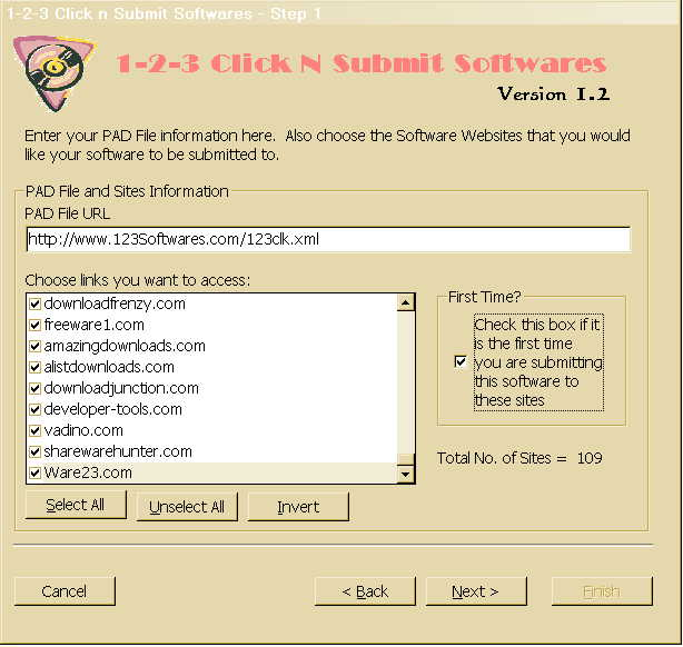 123 Click n Submit Softwares