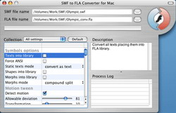 SWF to FLA Converter for Mac