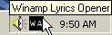 Winamp Lyrics Opener