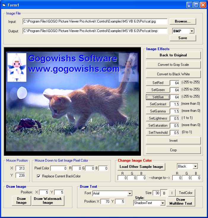 GOGO Picture Viewer Pro ActiveX Control
