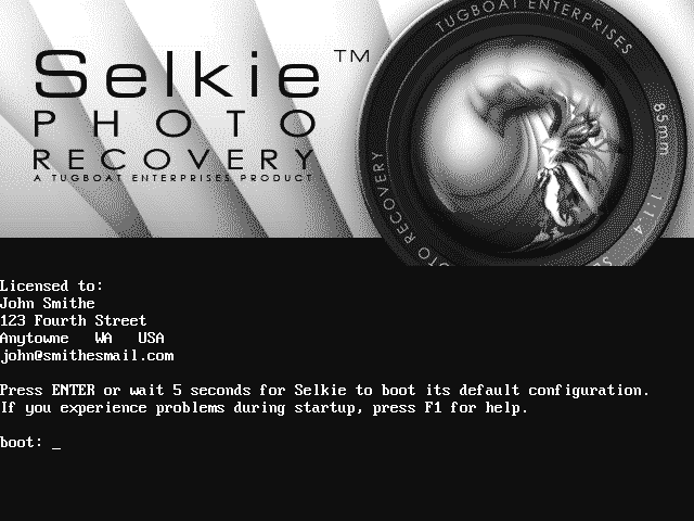 Selkie Photo Recovery