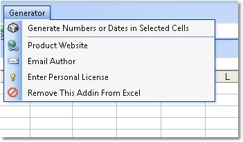 Excel Random Data (Numbers, Dates, Characters and Custom Lists) Generator Software