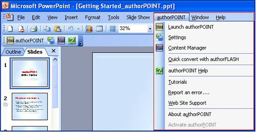 authorPOINT for Rapid Elearning