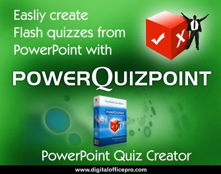 PowerQuizPoint Quiz Creator Software