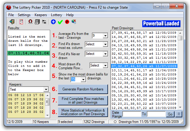 A Lottery Software 2010