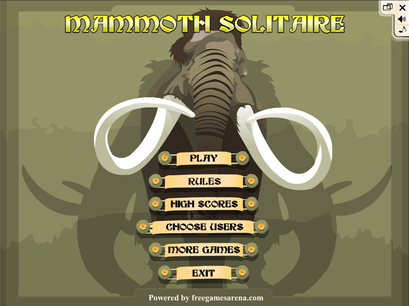 Mammoth Solitaire