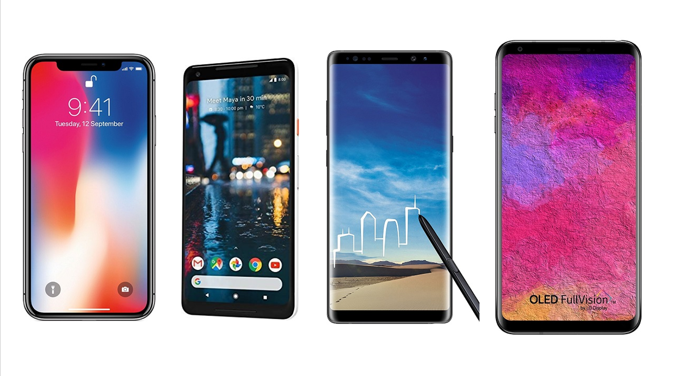 The 5 best mobiles of 2018