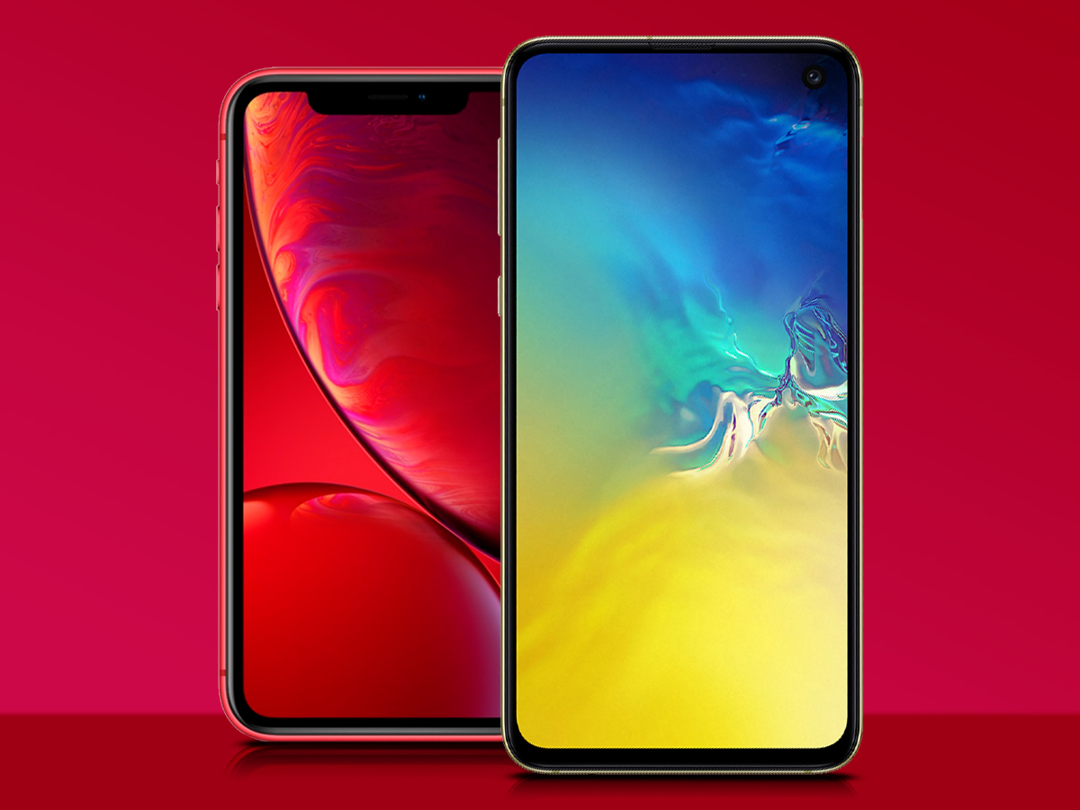 Samsung Galaxy S10 vs Apple iPhone XS