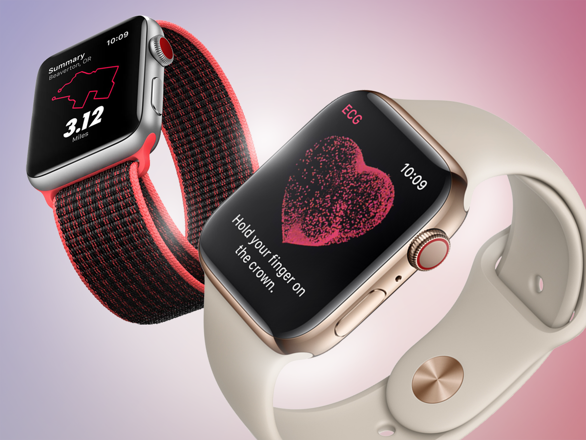 Big improvements, Big screens for Apple Watch 4