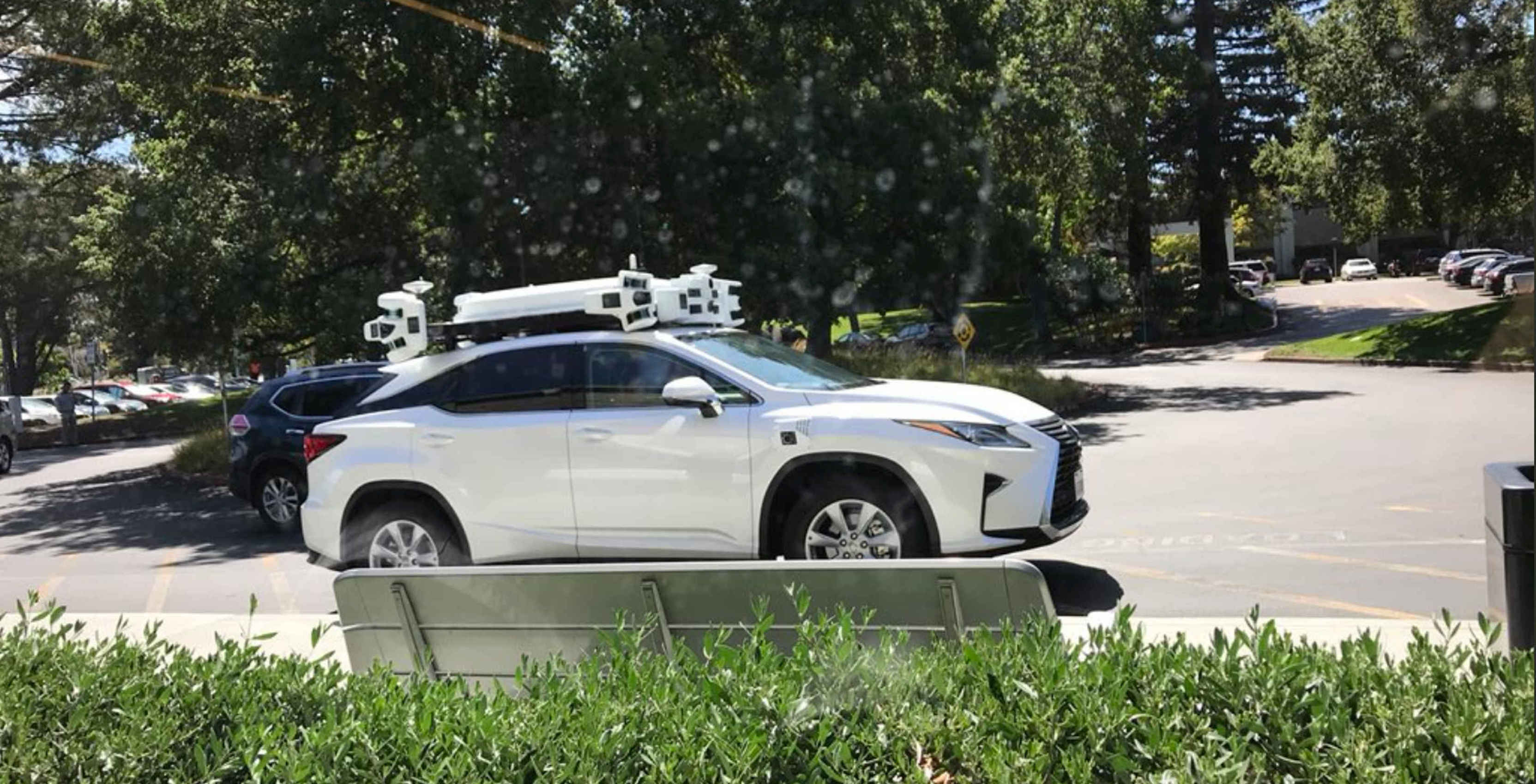 Apple has over 50 self-driving cars on the road in California